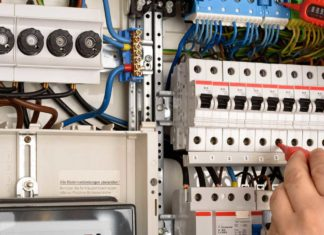 installation tableau électrique secondaire
