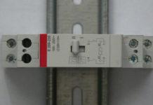 télérupteur et bouton poussoir
