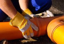 Bouchons de canalisation d'égout principal