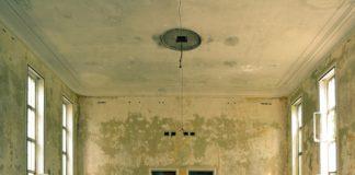 fuite d'eau au plafond